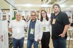 Marcílio Oliveira, Iran Lima, Bruna Leandro e Fábia Tarpiniano