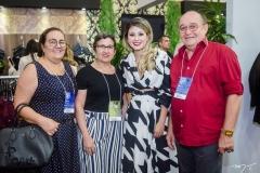 Margareth Bezerra, Mazé Paiva, Mônica Portela e Luciano Felício