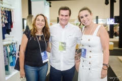 Weilia Oliveira, Manuel Trajano e Beatriz Cidrim