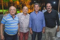 Aluísio Ramalho, Marcos Montenegro, Sampaio Filho e Paulo André Holanda