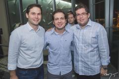 Fábio Albuquerque, Humberto Cavalcante e Vander Jamil