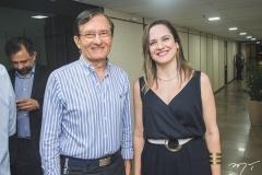 Hélio Perdigão e Juliana Guimarães