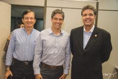 Hélio Perdigão, Ricardo Amorim e Marcos Veríssimo
