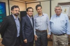 Jocélio Leal, Beto Studart, Ricardo Amorim e Roberto Macêdo