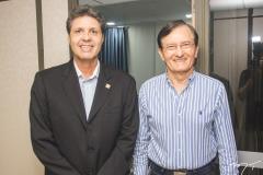 Marcos Veríssimo e Hélio Perdigão
