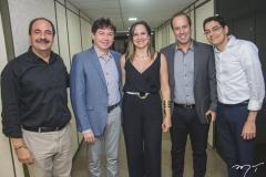 Paulo André Holanda, Edgar, Juliana Guimarães, César Ribeiro e Erick Picanço