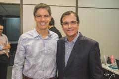 Ricardo Amorim e Beto Studart
