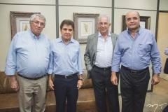 Ricardo Macêdo, Jorge Parente, Carlos Prado e Fernando Cirino