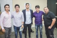 Rodolfo Rodrigues, Vinicius Machado, Cide Marcones Filho, Paulo Victor e Fábio Torres