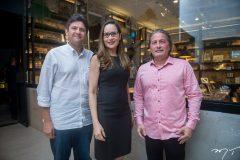 Bruno Girão, Manoela Crisóstomo e Jackino