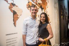 Eliezer Feitosa e Lara Rosado