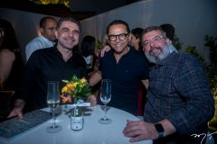 Isaac Furtado, Rossine Esmeraldo e Danilo Arruda