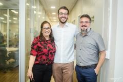 Ana Maria Xavier, Guilherme Muchale e Apolônio Aguiar