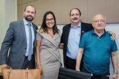 Fernando Andrade, Cláudia Guimarães, Paulo André Holanda e Aluízio Ramalho