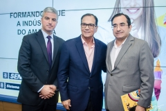 Guilherme Lencastre, Beto Studart e Jardson Cruz