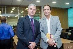 Guilherme Lencastre e Luiz Carlos Queiroz