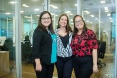Natália Portela, Rocaia Dutra e Ana Xavier