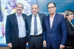 Paulo André Holanda, José Nunes e Beto Studart