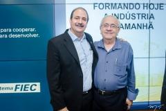 Paulo André Holanda e Eduardo Bezerra