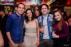 Antero Neto, Rafaela Lima, Luiz Costa e Erika Cardoso