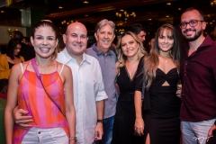Carol Bezerra, Roberto Claudio, Angelo e Tatiana Oliva, Vitorya e Andre Costa