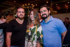 Diego Costa, Fernanda e Nicolas Martins