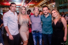 Diego e Maiara Lima, Angelo Oliva, Isaac Azar e Tatiana Oliva