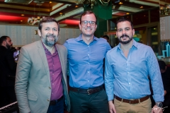 Élcio Batista, Gian Franco e Miguel Dias