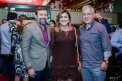 Élcio Batista, Simone Moraes e Paulo César Norões