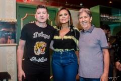Fabio Oliveira, Samyra Show e Angelo Oliva