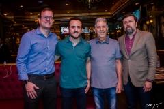 Gian Franco, Isaac Azar, Angelo Oliva e Elcio Batista