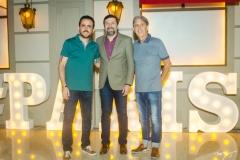 Isaac Azar, Élcio Batista e Angelo Oliva