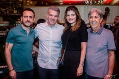 Isaac Azar, Ferruccio e Cristine Feitosa e Angelo Oliva