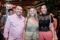 João Gauberto, Zildete e Liara Mota