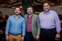 Miguel Dias, Elcio Batista e Edson Ferreira