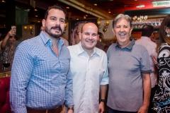 Miguel Dias, Roberto Claudio e Angelo Oliva