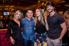 Patrícia Leite, Billy Bob, Ana Lucia Vilela e Lucas Fernandes