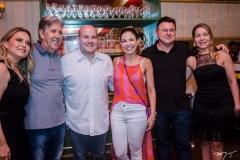 Tatiana e Angelo Oliva, Roberto Claudio, Carol Bezerra, Robinson Castro e Solange Marinho