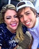 Patrícia e Danilo Dias aproveitam viagem à Flórida