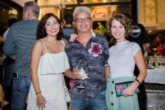 Bárbara Freitas, Rafael Rodrigues e Laís Bressan
