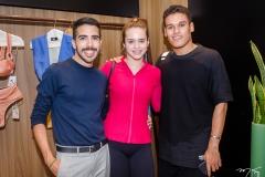 Breno Braga, Izabele Prado e Felipe Torres