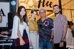Carolina Alexandre, Paulinha Sampaio, Rafael Rodrigues e Leonardo Vieira
