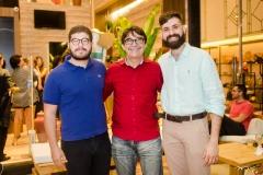 Henrique Bessa, Ivan Aquino e Orlando Lustosa