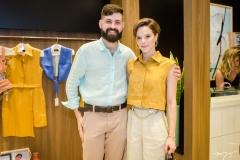 Orlando Lustosa e Paulinha Sampaio