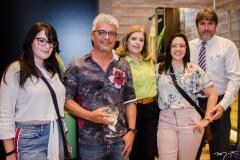 Ingrid Weyne, Rafael Rodrigues, Cássia Lustosa, Daniele e Flávio Weyne