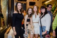 Mariana Perez, Carolina Lustosa, Letícia Queiroz e Ingrid Weyne