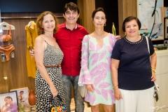 Narda Esmeraldo, Ivan Aquino, Mirna Aguiar e Inês Esmeraldo