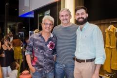 Rafael Rodrigues, Milton Cunha e Orlando Lustosa