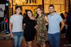 Richel Moreira, Ana Carolina Sousa, Rochelania Sousa e Daniel Diógenes