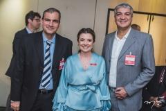 Alexandre Sales, Emilia Buarque e Paulo Morais